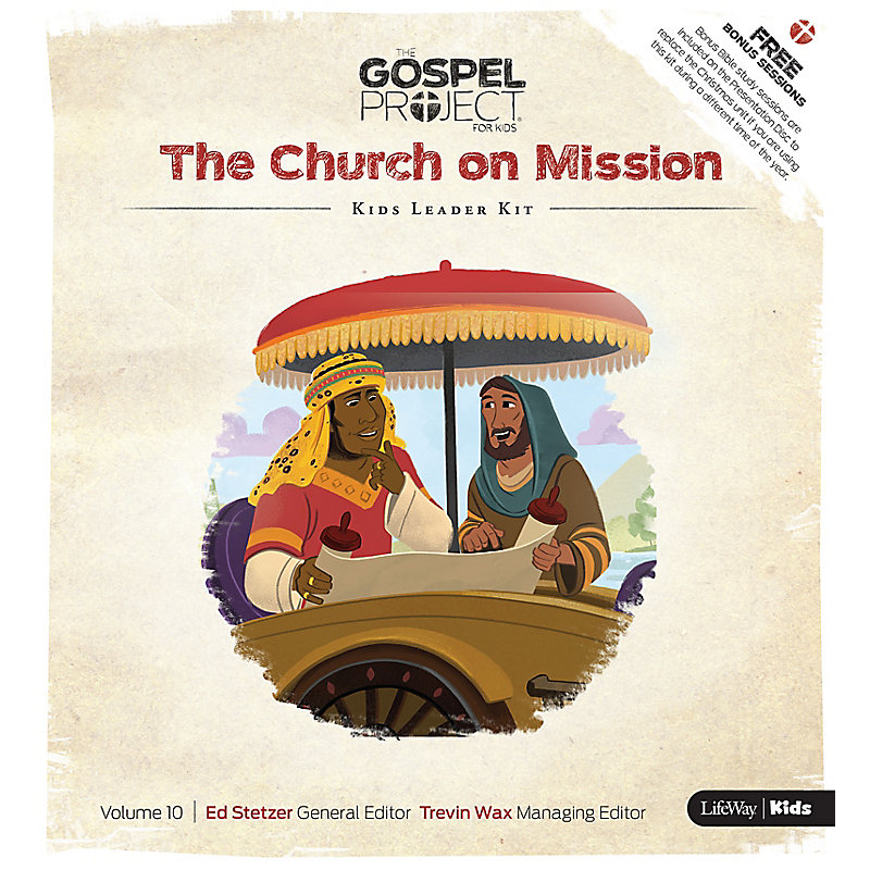 The Gospel Project for Kids: Kids Leader Kit - Volume 10: The Church on Mission