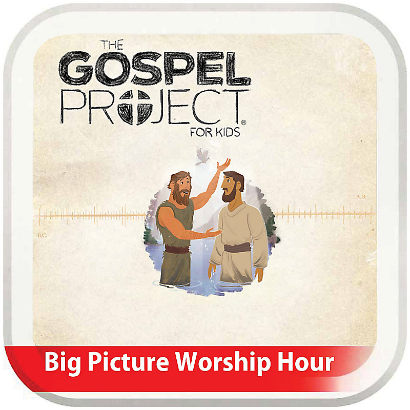 The Big Picture Worship Hour for Kids - Volume 7: The Rescue Begins