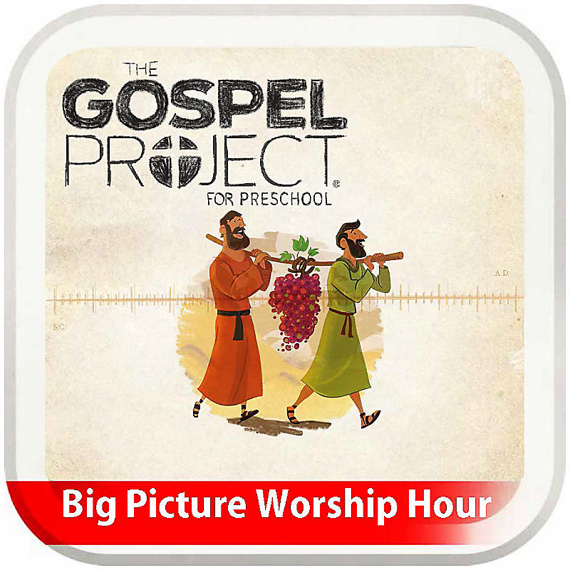 The Big Picture Worship Hour for Preschool - Volume 3: The Promised Land