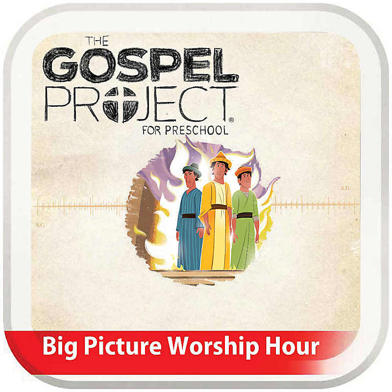 The Big Picture Worship Hour for Preschool - Volume 6: Exile and Return