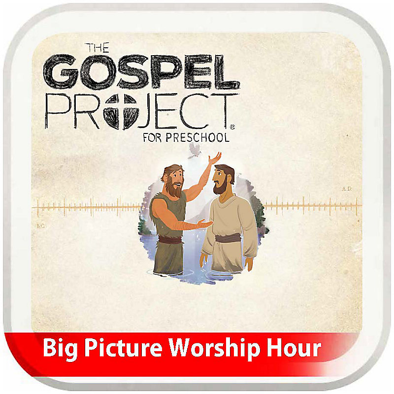 The Big Picture Worship Hour for Preschool - Volume 7: The Rescue Begins