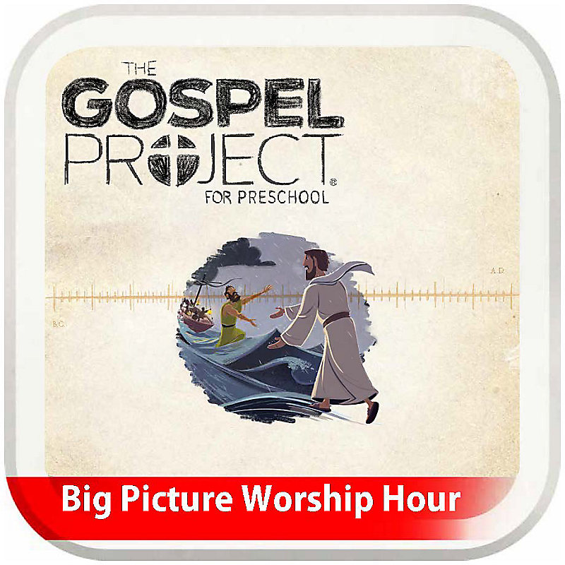 The Big Picture Worship Hour for Preschool - Volume 8: Stories and Signs