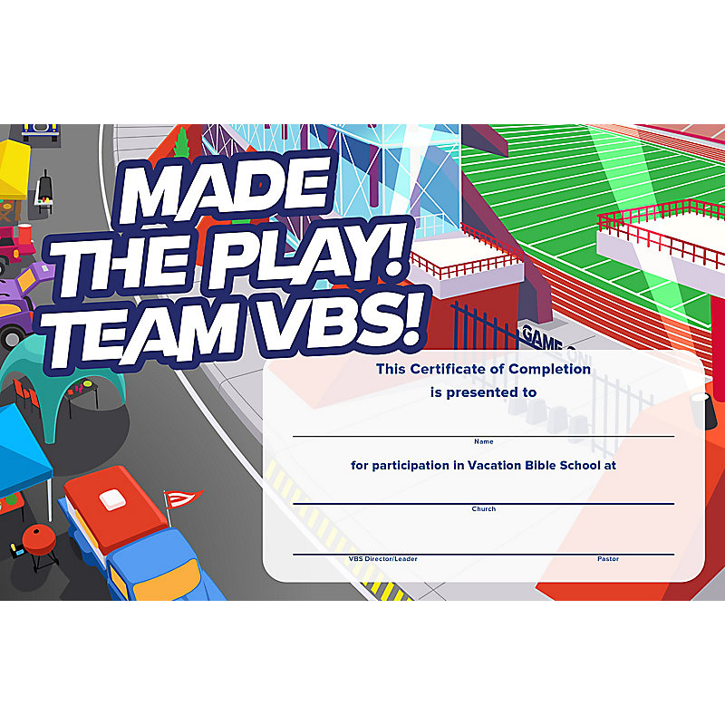 vbs certificate template gallery template design free