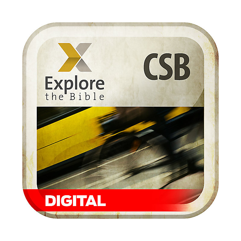 Explore the Bible: Daily Discipleship Guide PDF - CSB - Spring 2019 - Digital