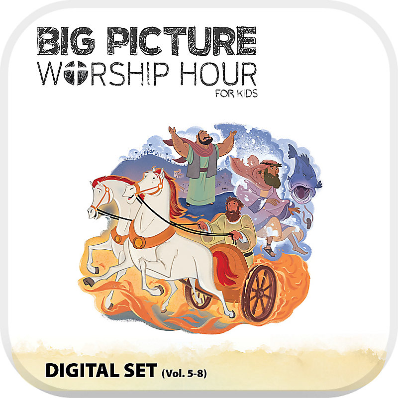 The Big Picture Worship Hour for Kids - Volume 5-8 Digital Set