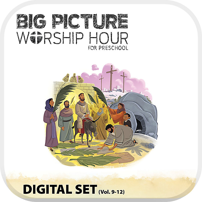 The Big Picture Worship Hour for Preschool - Volume 9-12 Digital Set