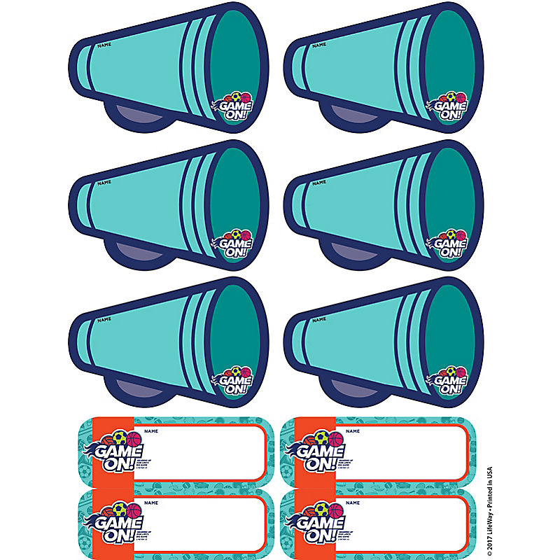 VBS 2018 Sticker Name Tags 10 Sheets