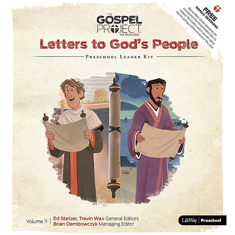 The Gospel Project for Preschool: Preschool Leader Kit - Volume 11: Letters to God's People