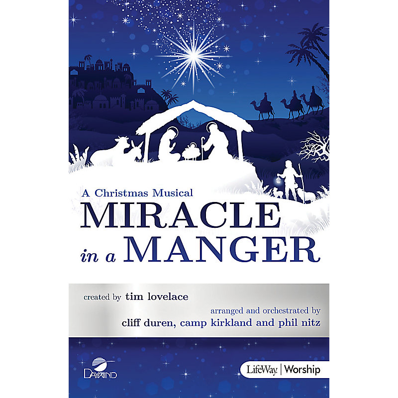 Miracle in a Manger - Bass Rehearsal CD