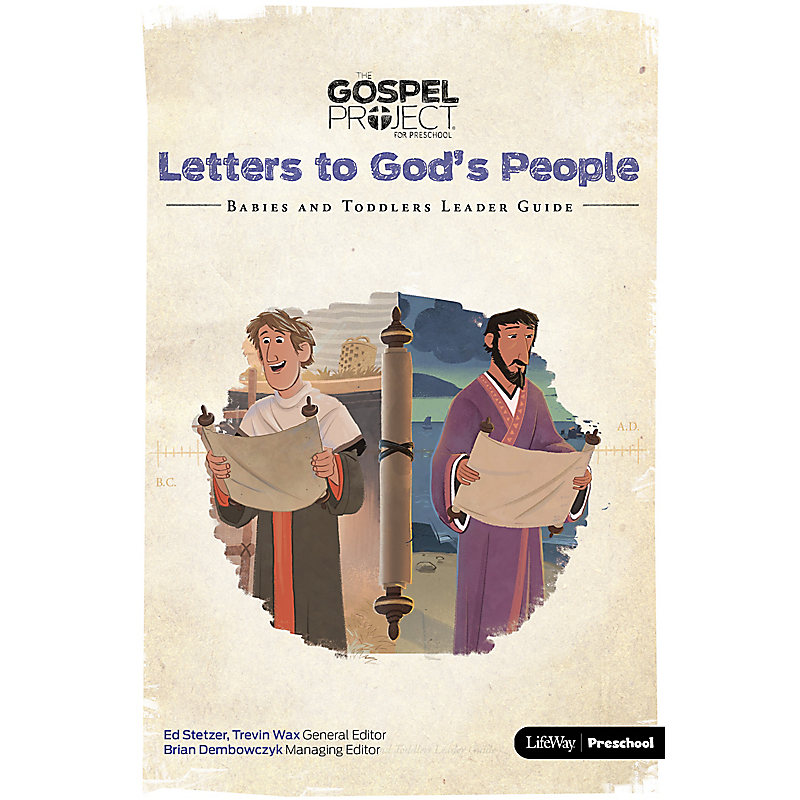 The Gospel Project for Preschool: Babies and Toddlers Leader Guide PDF - Volume 11: Letters to God's People