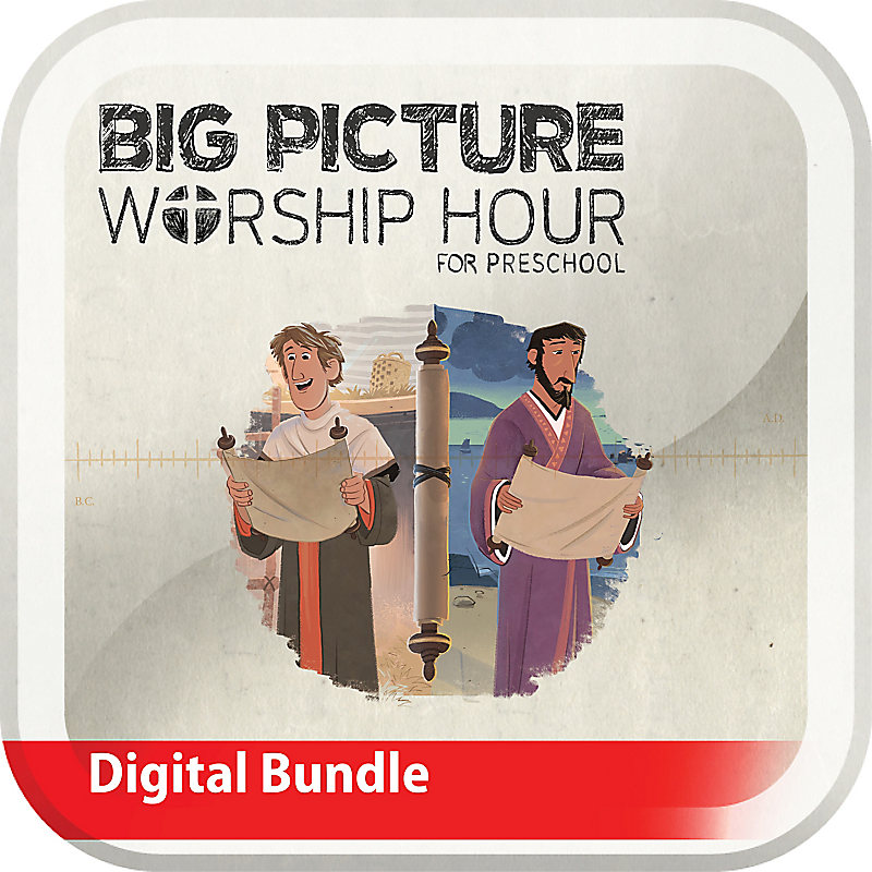 The Big Picture Worship Hour for Preschool - Volume 11: Letters to God's People