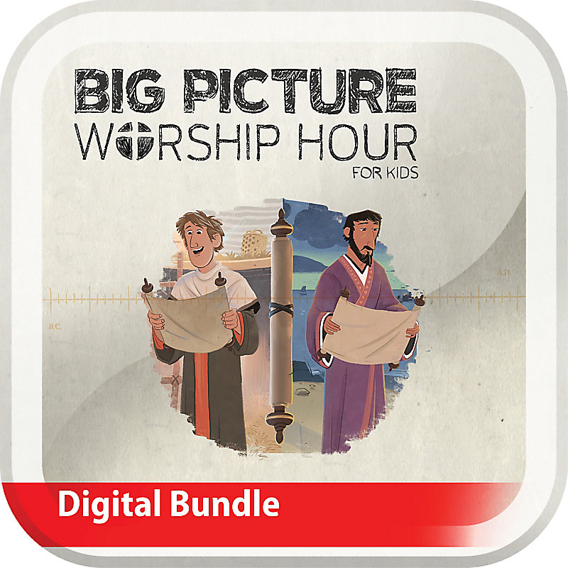 The Big Picture Worship Hour for Kids - Volume 11: Letters to God's People
