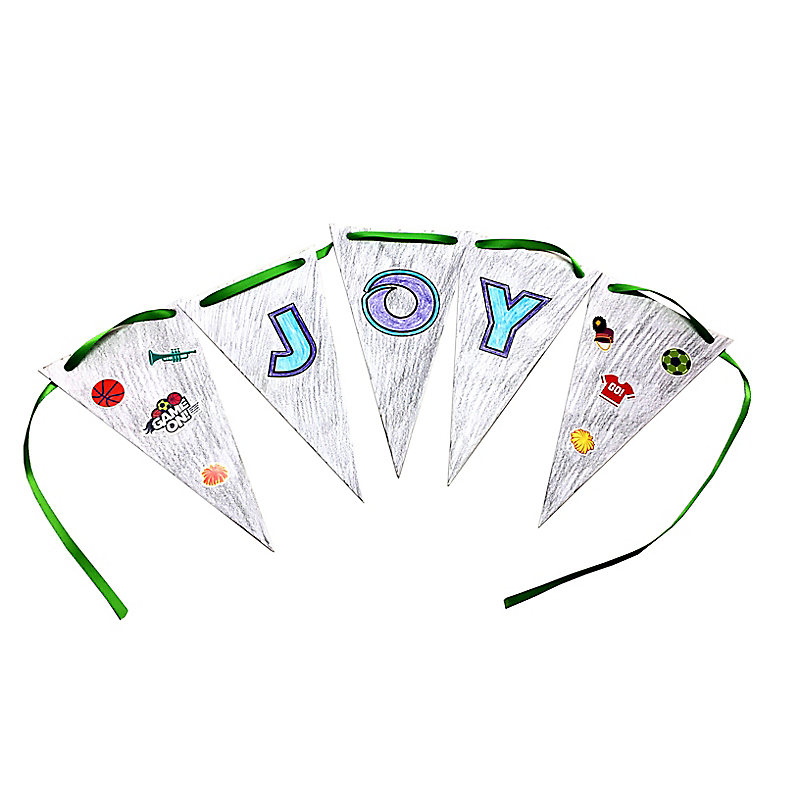 VBS 2018 Joy Banner Craft Pack Pkg. 10