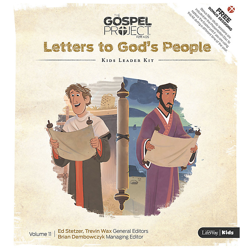 The Gospel Project for Kids: Kids Leader Kit - Volume 11: Letters to God's People