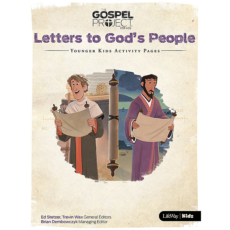 The Gospel Project for Kids: Younger Kids Activity Pages - Volume 11: Letters to God's People