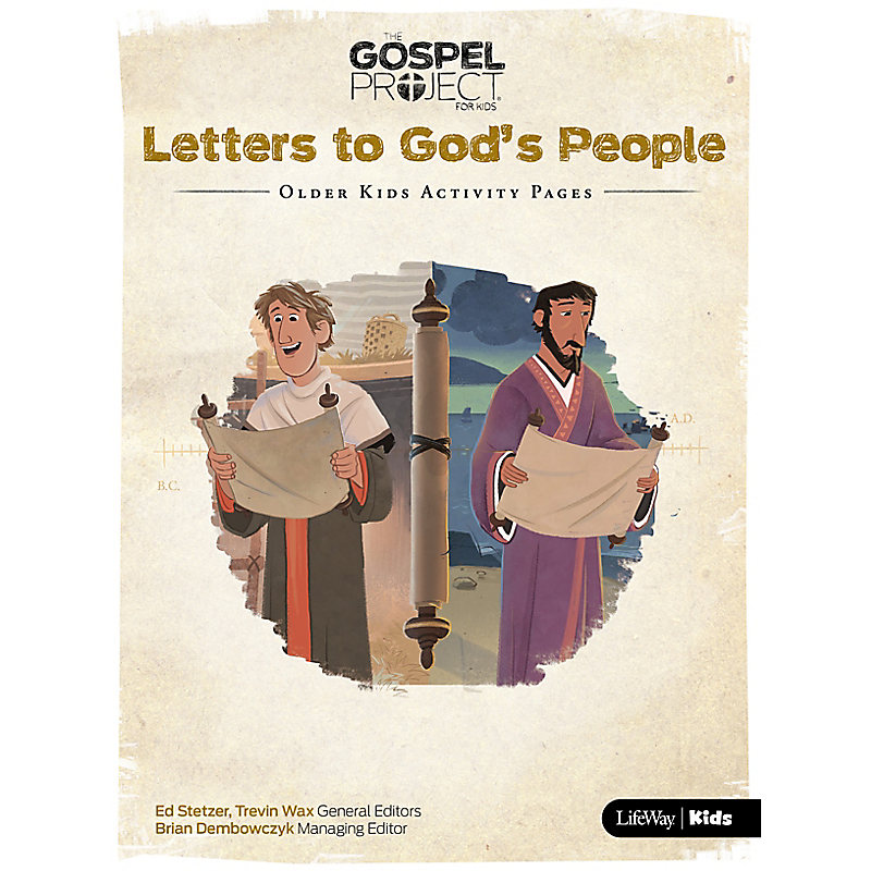 The Gospel Project for Kids: Older Kids Activity Pages - Volume 11: Letters to God's People