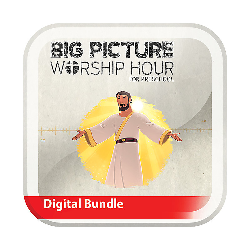 The Big Picture Worship Hour for Preschool - Volume 12: Come, Lord Jesus