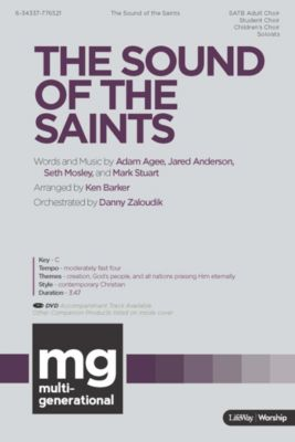 Worshp music church music lifeway the sound of the saints anthem fandeluxe Image collections