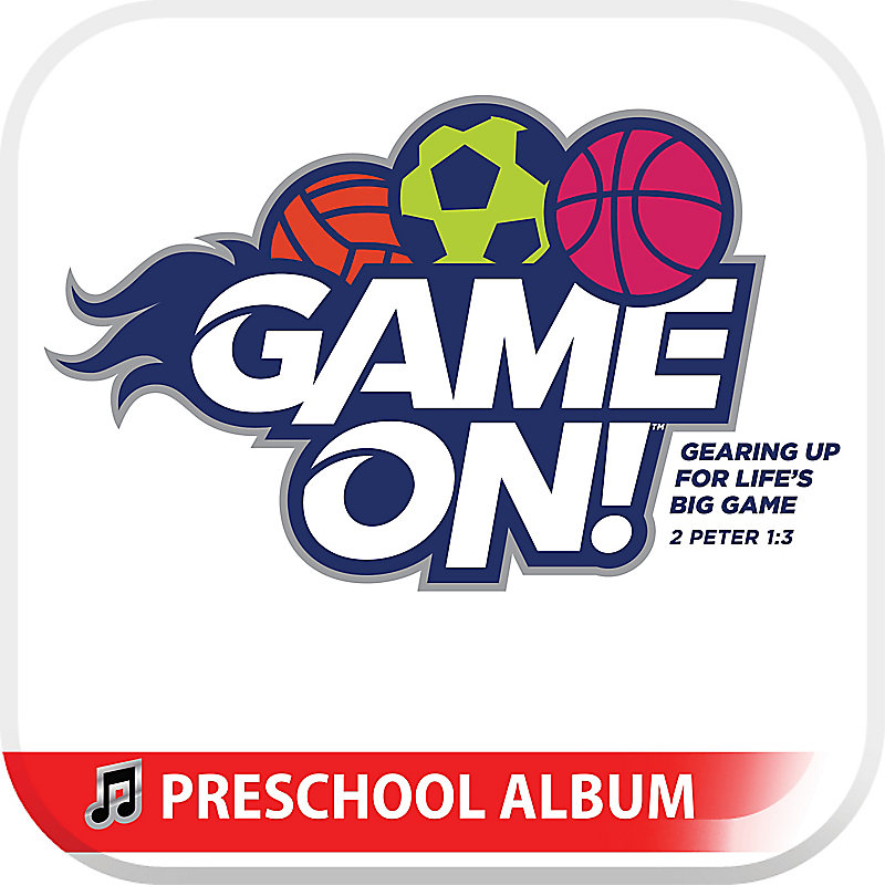 VBS 2018 Game On! Preschool Album