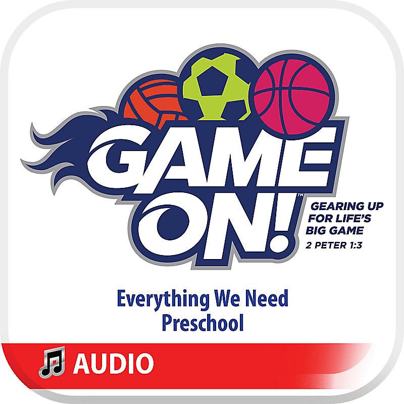 VBS 2018 Preschool: Everything We Need Audio