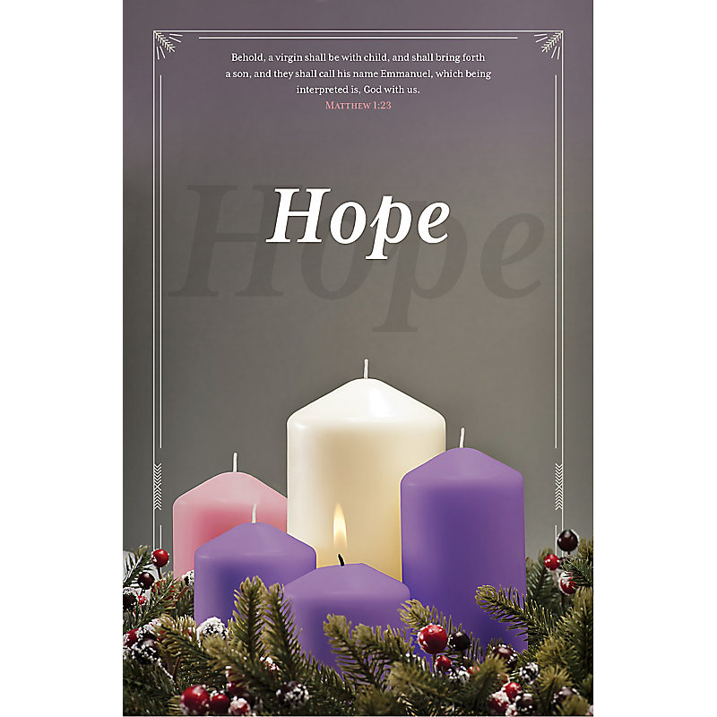 Advent Hope - Bulletin (Pkg 100) Advent