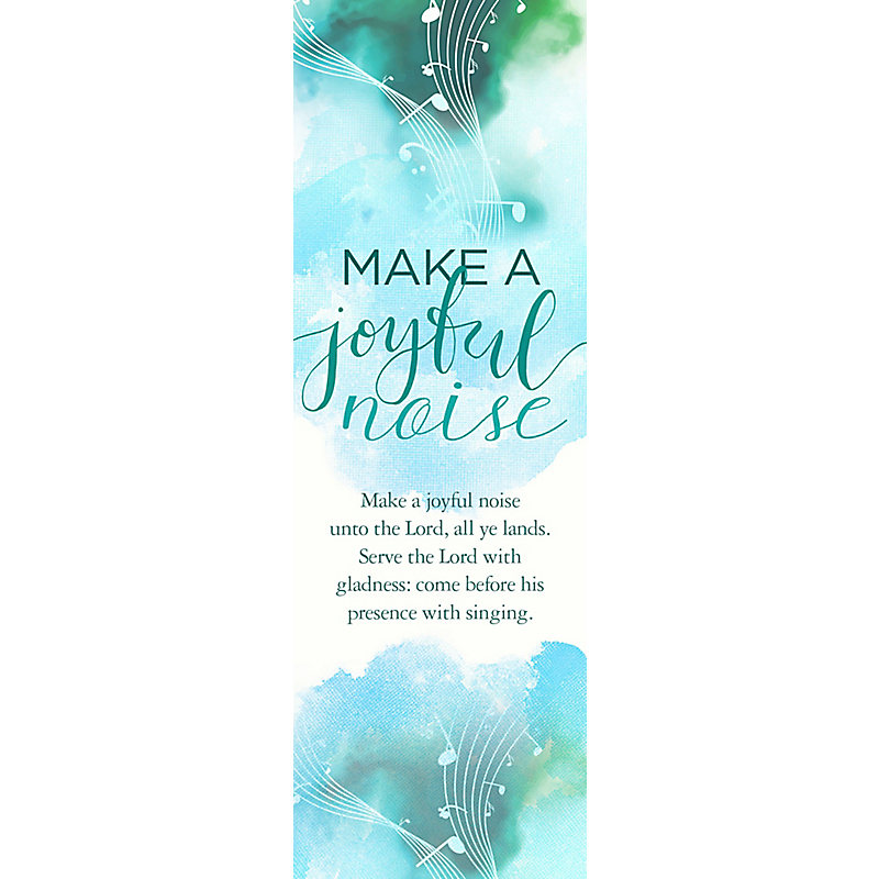 Psalm 100 - Bookmark (Pkg 25)  General Worship
