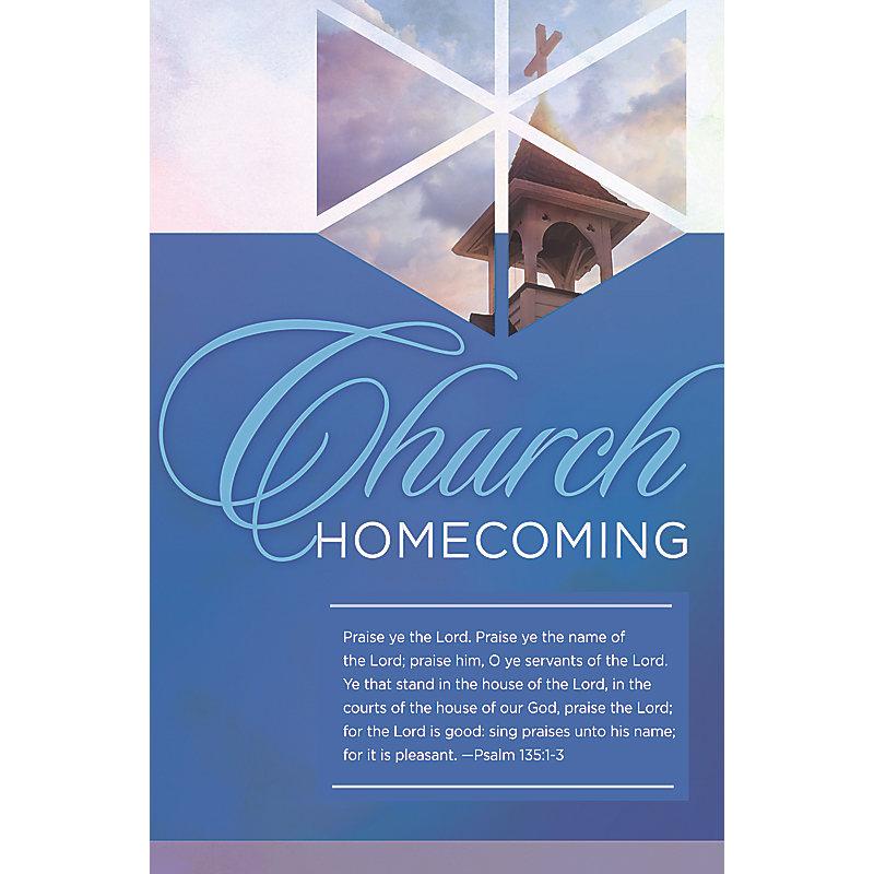 Praise the Lord - Bulletin (Pkg 100) Church Homecoming
