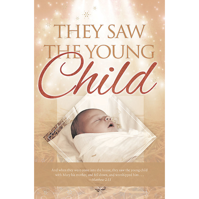They Saw the Child - Bulletin (Pkg 100) Christmas