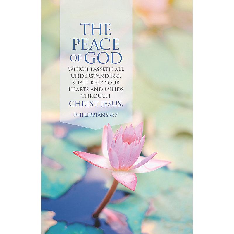 The Peace of God - Bulletin (Pkg 100) General Worship