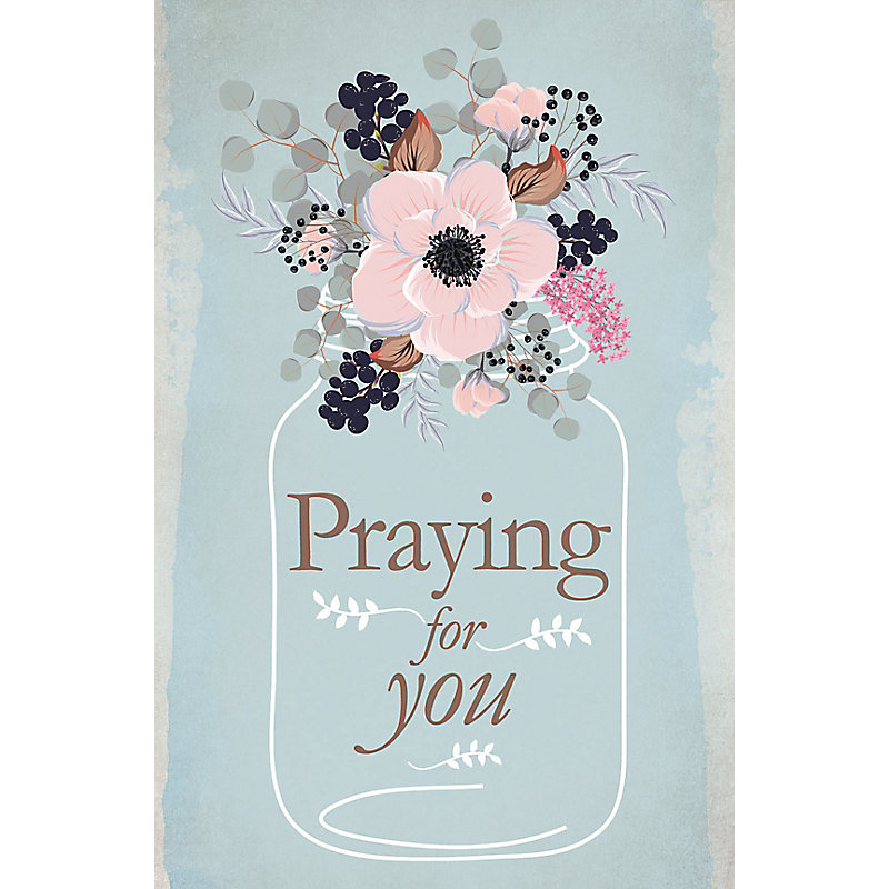 Praying for You - Postcard (Pkg 25) General Worship