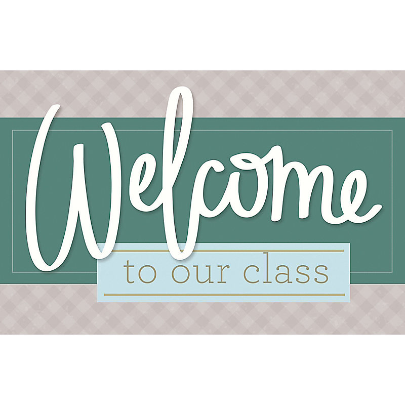 Welcome to Our Class - Postcard (Pkg 25) General Worship