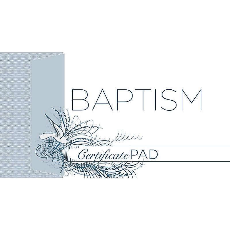 Baptism Certificate (Pad of /25)