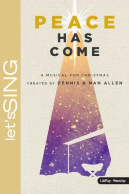 peace has come choral book - Christmas Cantatas For Small Choirs