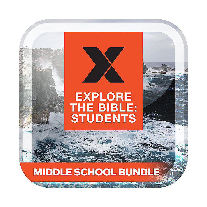 Explore the Bible: Students Middle School Bundle Fall 2017