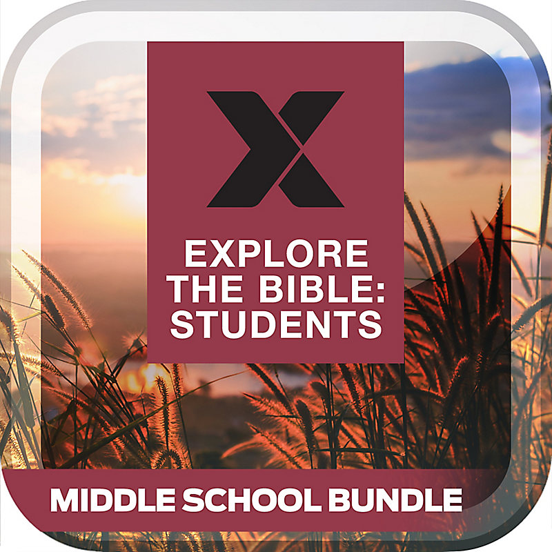 Explore the Bible: Students Middle School Bundle Fall 2019