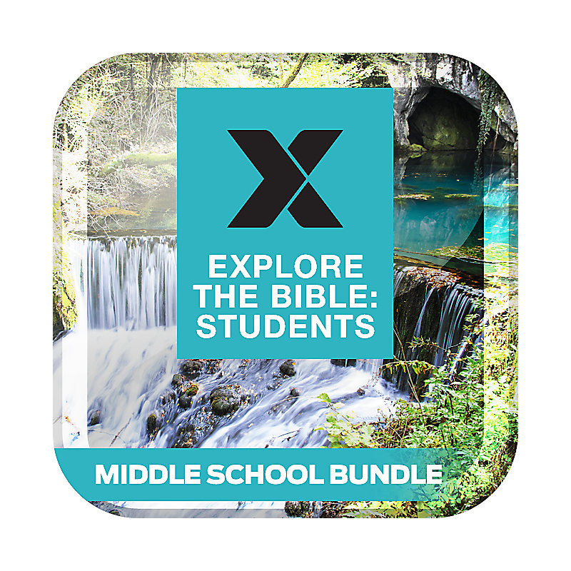 Explore the Bible: Students Middle School Bundle Spring 2019