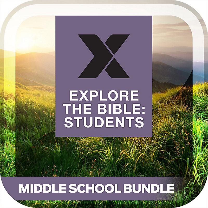 Explore the Bible: Students Middle School Bundle Summer 2019