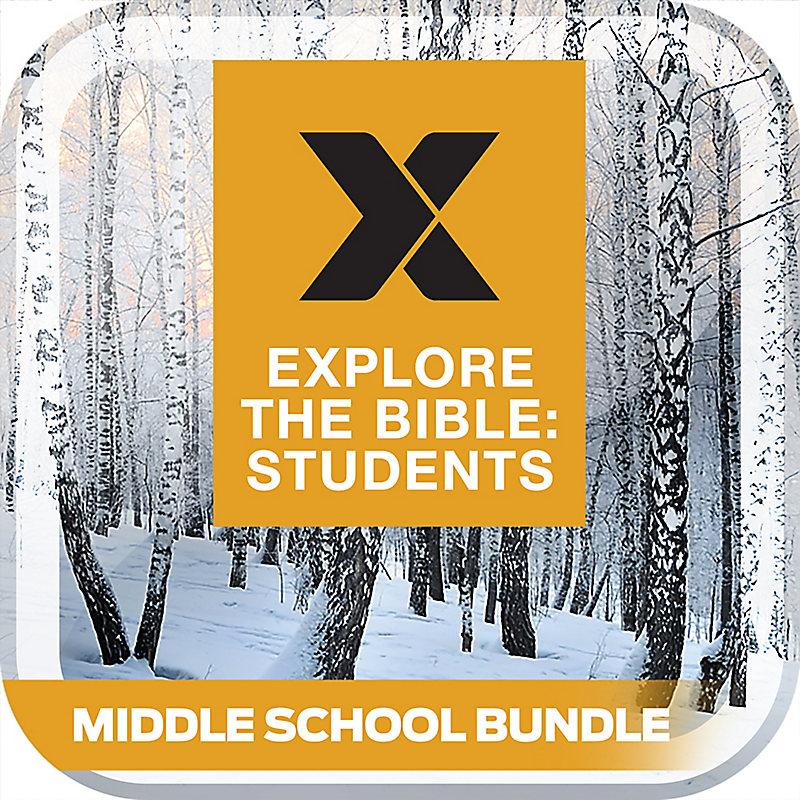 E-EXPLORE THE BIBLE: STUDENTS MIDDLE SCHOOL BUNDLE Winter 2019