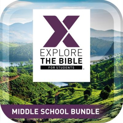 Explore the Bible Student Middle School Bundle