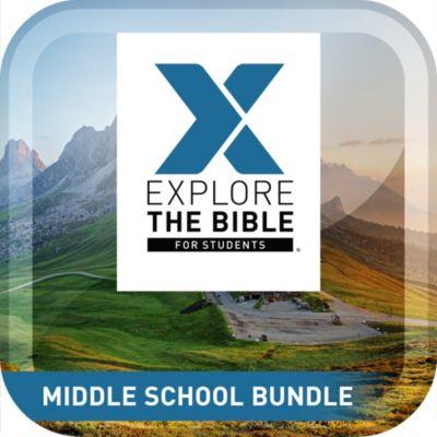 Explore the Bible Student Middle School Bundle