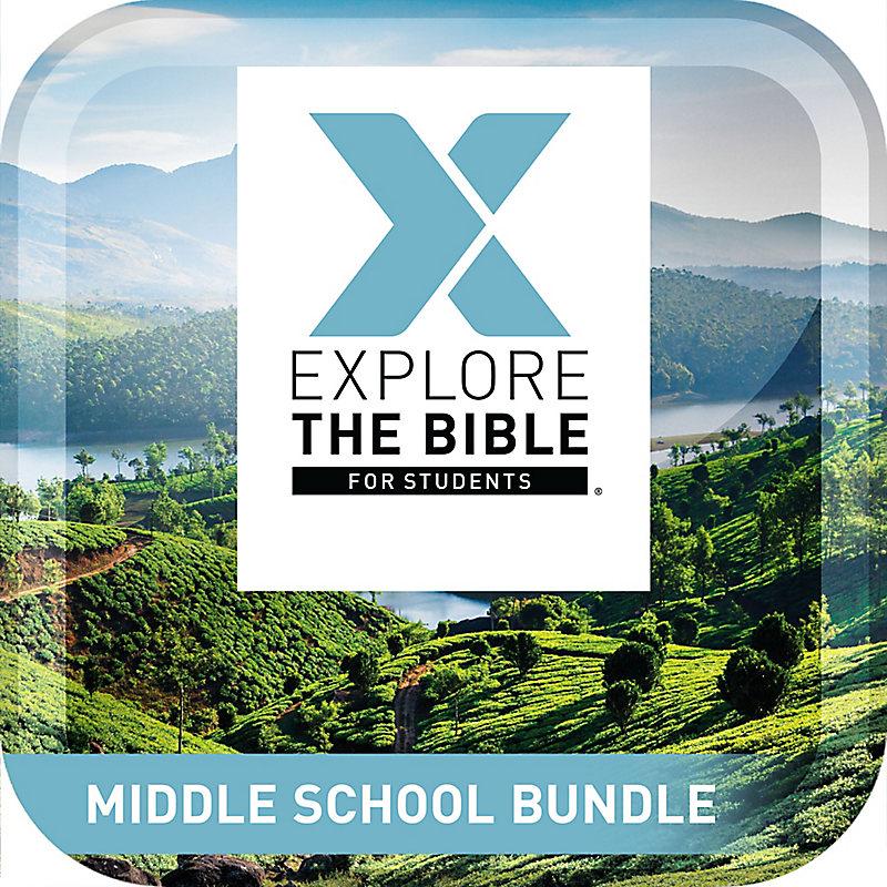 Explore the Bible: Students - Middle School Bundle - Winter 2020-21