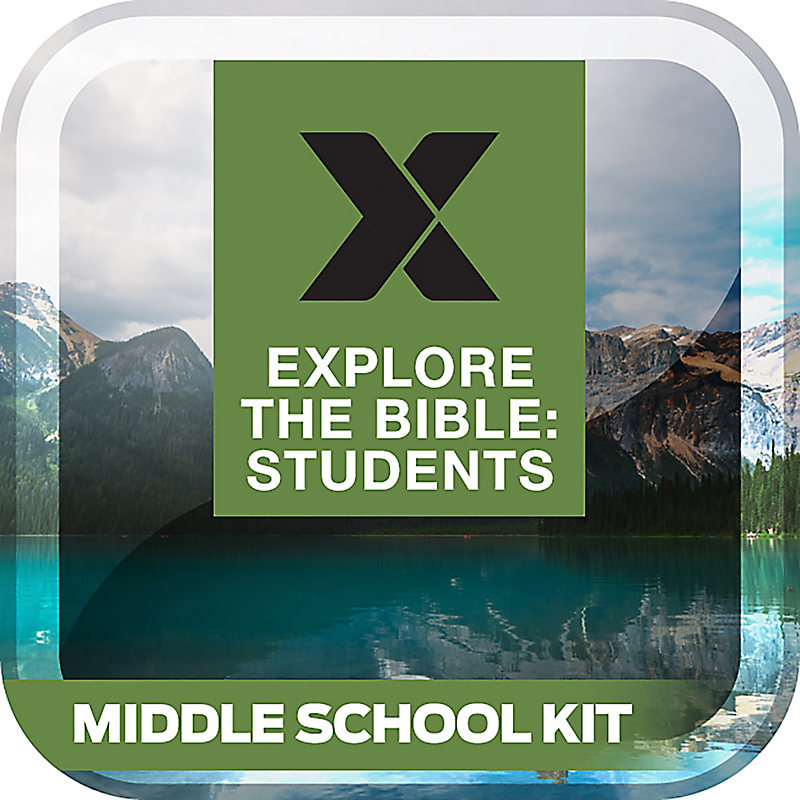 Explore the Bible: Students Middle School Kit - Spring 2018