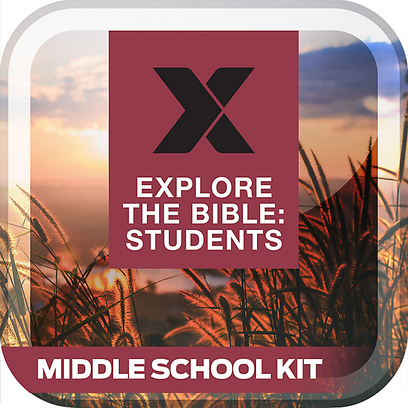 Explore The Bible: Students Middle School Kit Fall 2019