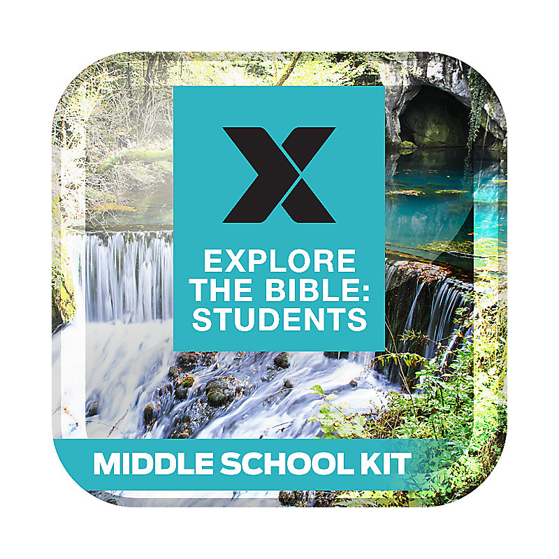 Explore The Bible: Students Middle School Kit Spring 2019