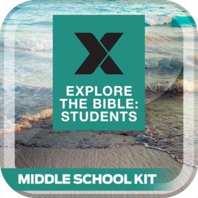 Explore the Bible Student Middle School Digital Kit