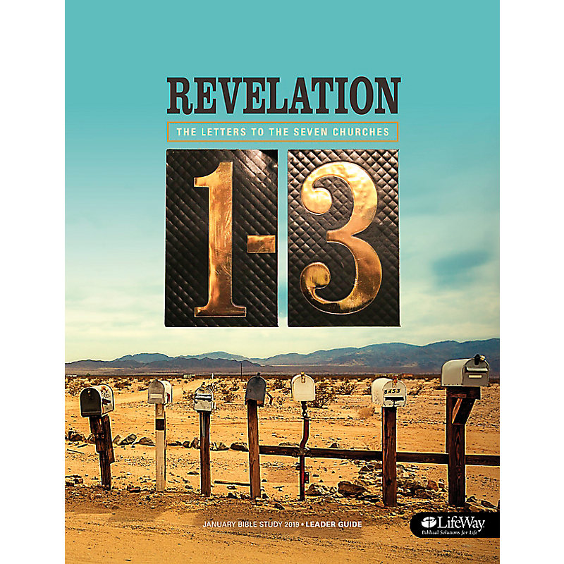 January Bible Study 2019: The Letters to the Seven Churches; Revelation 1-3 - Leader Guide & CD