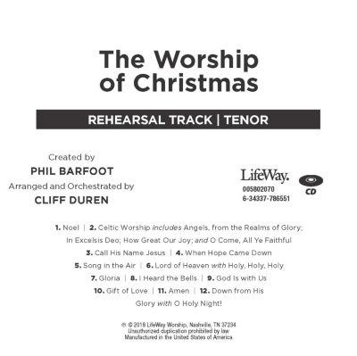 The Worship Of Christmas Phil Barfoot Christmas Collection Lifeway