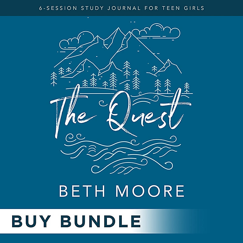 The Quest - Study Journal for Teen Girls Digital Leader Kit