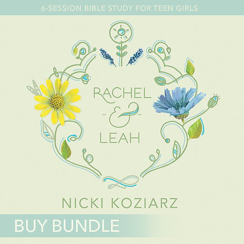 Rachel & Leah - Teen Girls' Bible Study Video Bundle