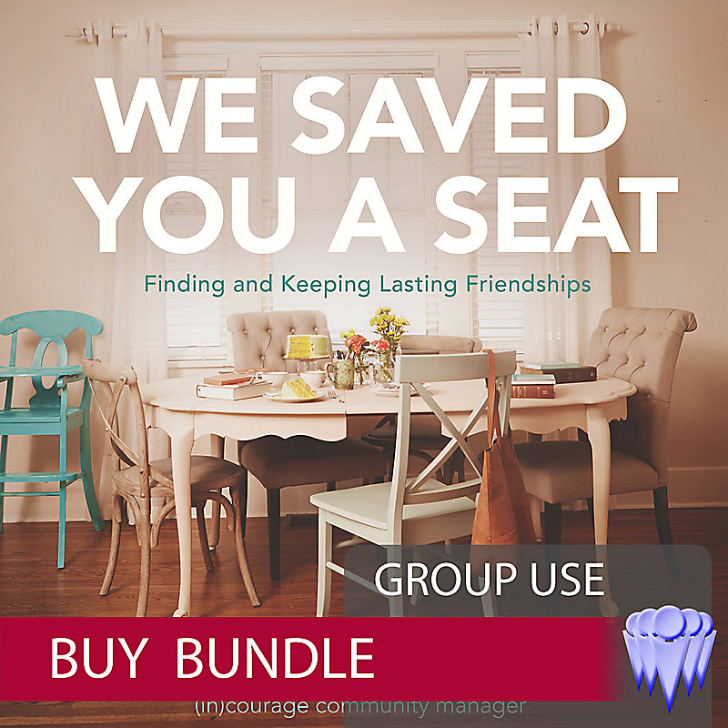 We Saved You a Seat - Group Use Video Bundle